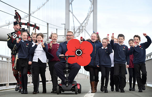 Poppyscotland launch 2017 Scottish Poppy Appeal